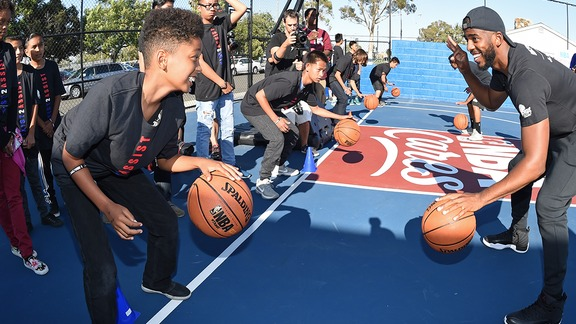 Community: Paul, Jordan Help Open Boys & Girls Club In Carson - 9/14/16