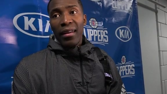 Postgame Press Conference: Jamal Crawford - 10/27/16