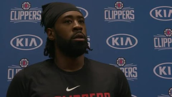 Press Conference with DeAndre Jordan | Training Camp 2017
