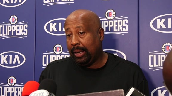 Practice Chat: Mike Woodson | 10/29/17
