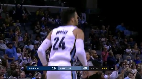 Brooks catches fire