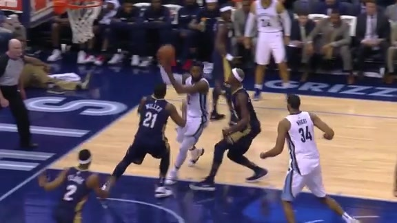 Tyreke behind the back to Wright