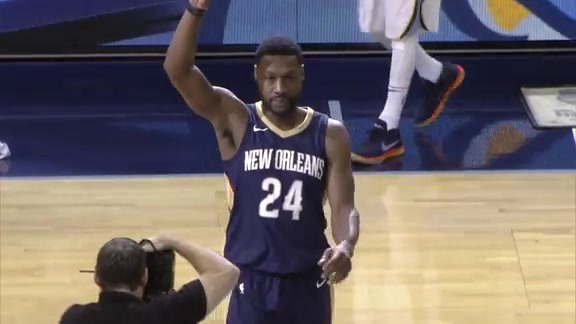 The Grizzlies pay tribute to Tony Allen