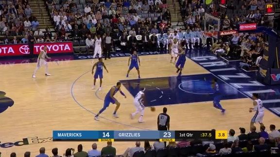 Rio breaks down Mavs defender