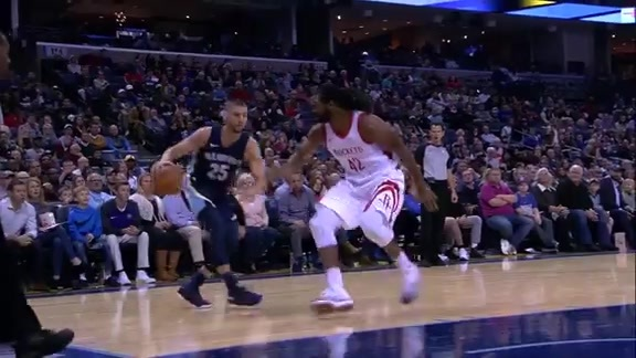 Chandler Parsons gets to cookin'