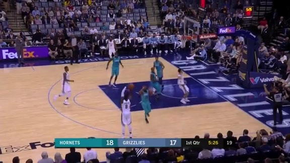 Gasol protects the paint