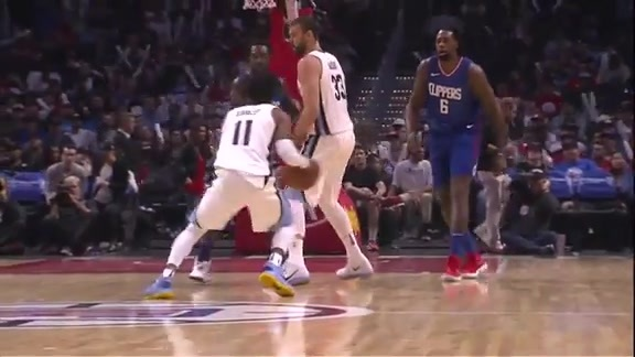 Conley leads Grizz past Clippers