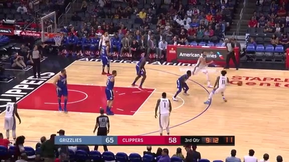 Grizzlies @ Clippers highlights 11.4.17