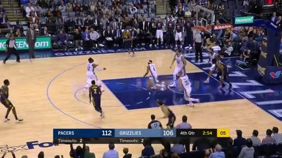 Grizzlies vs. Pacers highlights 11.15.17