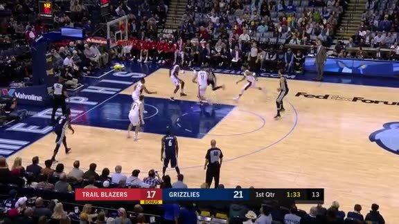 Evans drops 20 points off the bench against Portland
