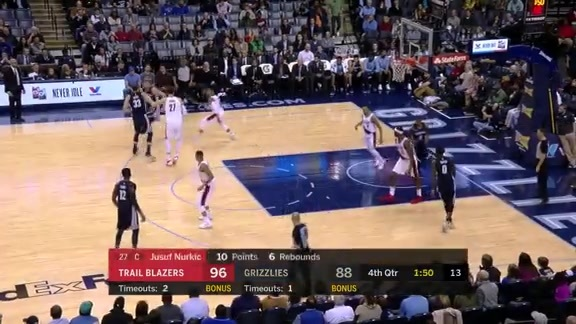 Chalmers leads all scorers with 21 points against Portland