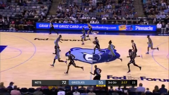 Grizzlies vs. Nets highlights 11.26.17