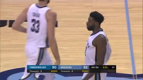 Grizzlies vs. Timberwolves highlights 12.4.17