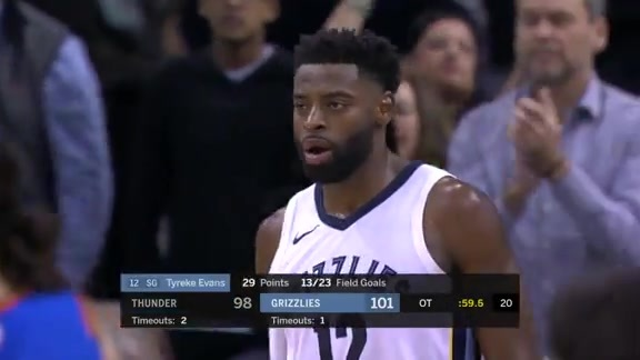 Tyreke takes over against OKC