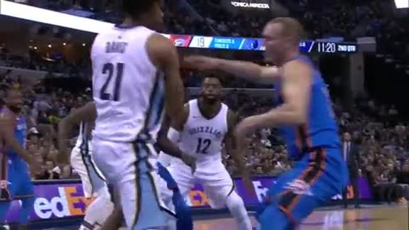 Grizzlies vs. Thunder highlights 12.9.17