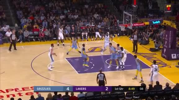Martin scores career-high 20 points against Lakers