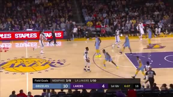 Evans leads Grizz to victory in LA
