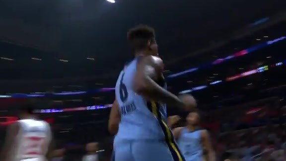 Grizzlies @ Clippers highlights 1.2.18