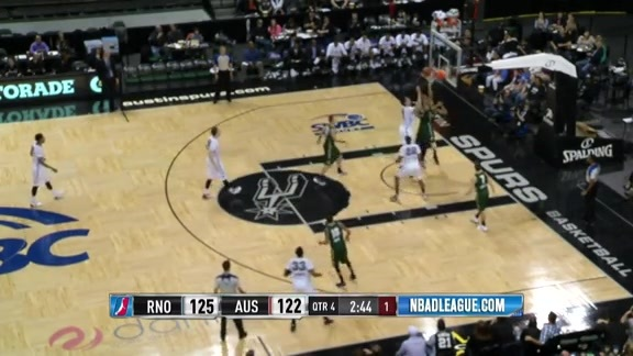 Lamar Patterson Notches Double-Double In D-League Action