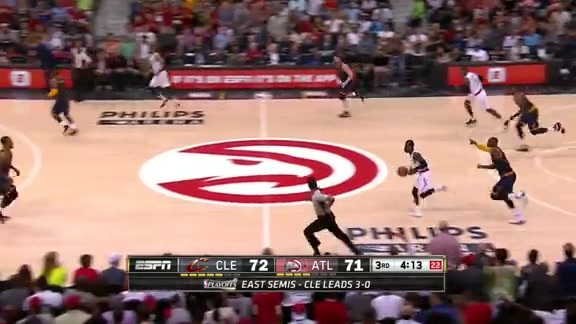 Hawks Make Things Difficult On Cavs With 7 Blocks