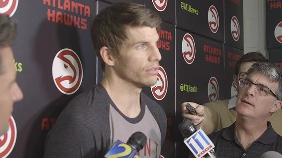 Korver: We Come Here To Work Every Day
