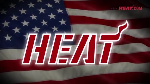 HEAT Home Strong Player Intro
