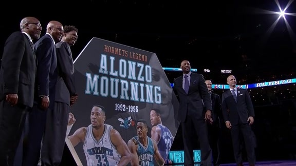 Alonzo Mourning Night | Halftime Part 2 - 2/5/16