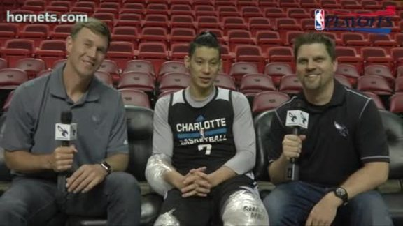 Matt and Matt with Jeremy Lin - 4/26/16