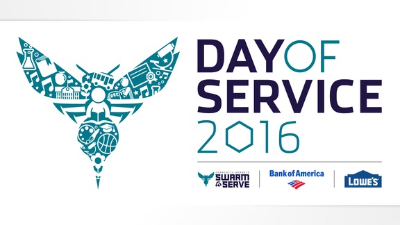 Hornets Day of Service Recap - 6/20/2016
