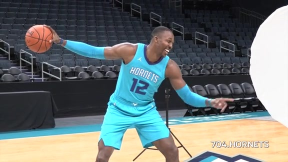 2017 Hornets Media Day - Behind the Scenes - 9/25/17