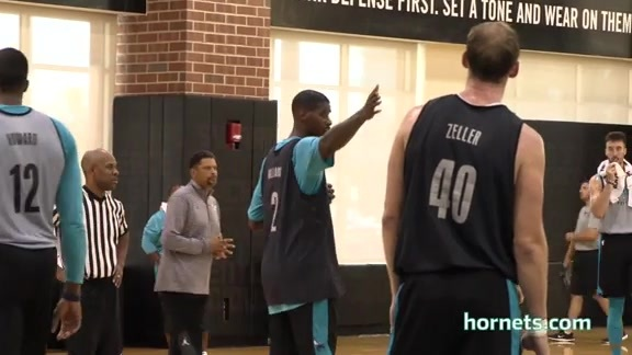 2017 Hornets Training Camp Spotlight | Veteran Leadership - 10/17/17
