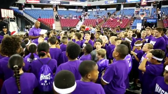 The Kings and Youth Basketball