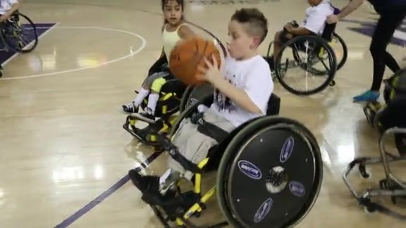 Youth Wheelchair Basketball Clinic