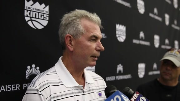 Mike Bratz on First Kings Pre-Draft Workout