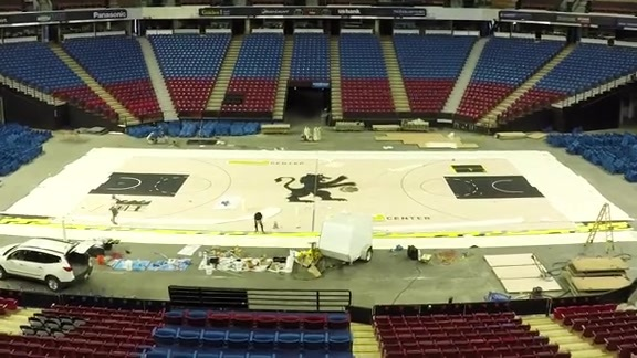 Black Court Painting Time Lapse