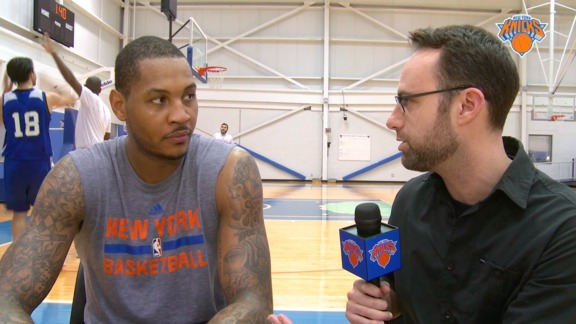 1-on-1 with Melo: Winner of NBA Cares Community Assist Award