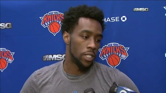TUES Practice: Wroten On His Health and Opportunity in NY