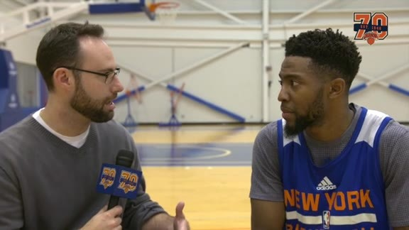 1-on-1 with Chasson Randle: What He's Learned From Jennings and Preseason Success