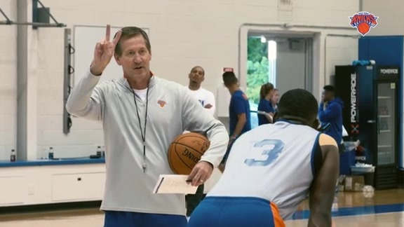 Inside Knicks Training Camp: Coach Hornacek's Message to the Team