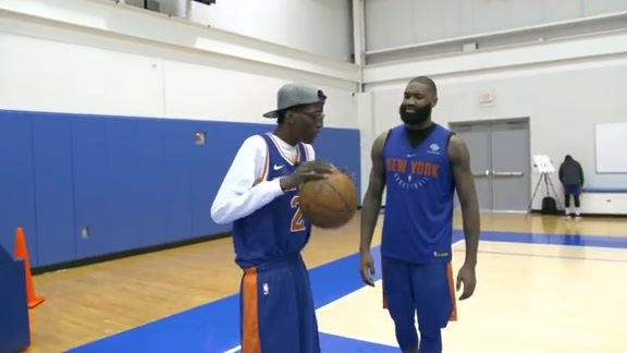 Garden of Dreams: Kevin Thompson's Lifelong Wish of Being a Knick Comes True