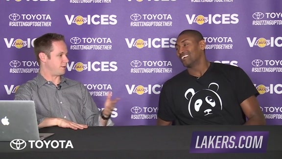 Lakers Voices: Metta World Peace (02/18/16)