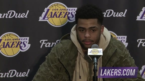 Postgame: D'Angelo Russell (03/01/16)