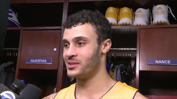 Postgame: Larry Nance Jr. (4/13/16)