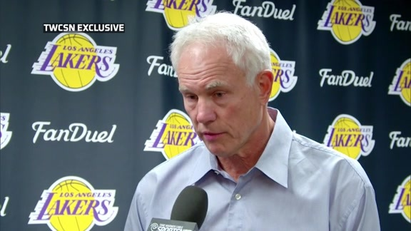 Mitch Kupchak on Parting Ways with Byron Scott