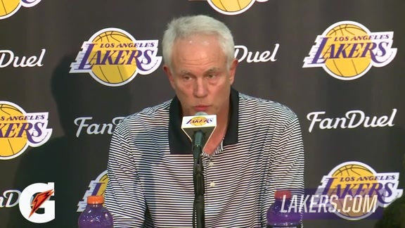 Mitch Kupchak Draft Press Conference