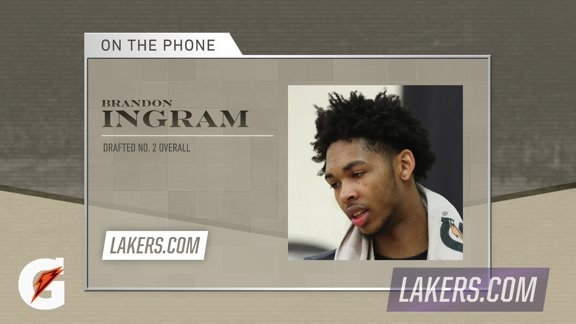 Brandon Ingram Phone Interview
