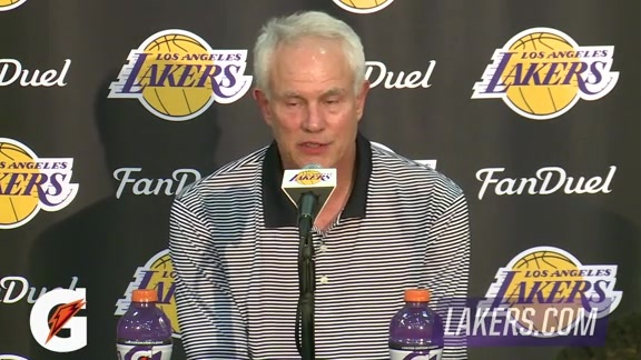 Mitch Kupchak Post Draft Press Conference