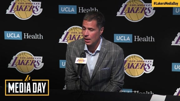 2017 Media Day: Rob Pelinka