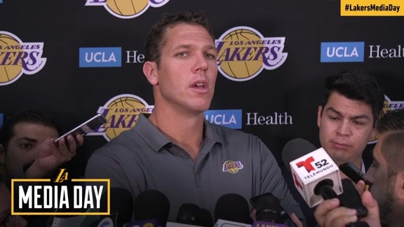 2017 Media Day: Luke Walton