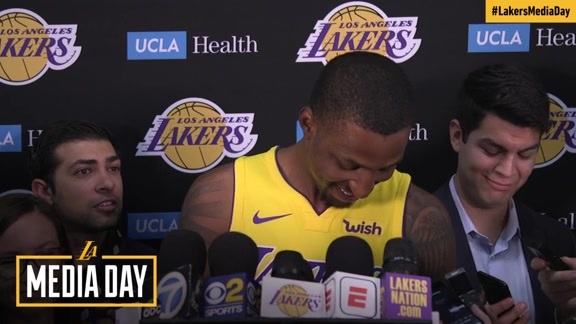 2017 Media Day: Kentavious Caldwell-Pope